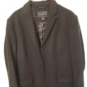 Banana Republic Men's Top Coat Size L Retail 289